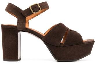 Chie Mihara F-Dibe block sandals