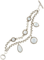 Konstantino Aura Crystal & Mother-of-Pearl Double-Strand Bracelet