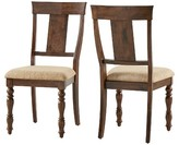 Inspire Q Rutherford Formal Dining Chair - Warm Brown