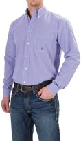 Roper Plaid Shirt - Button Front, Long Sleeve (For Men and Big Men)