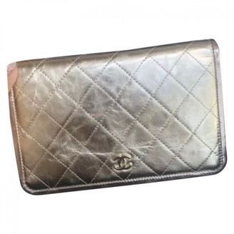 Chanel Wallet on Chain Gold Leather Handbags