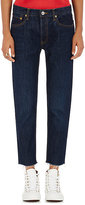 RE/DONE Women's The Relaxed Crop Jeans-NAVY