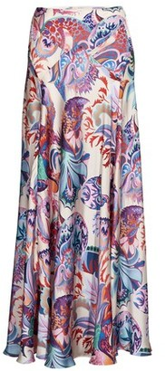 Paco Rabanne Printed long skirt