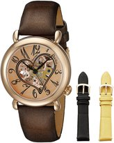 Stuhrling Original Women's Lifestyle Cupid Skeleton Watch Set 109SET