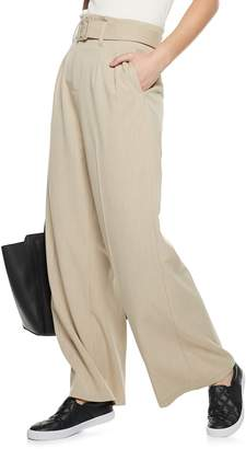 Nine West Women's Paperbag-Waist Wide Leg Pants