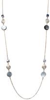 Amrita Singh Grey Shell Station Necklace