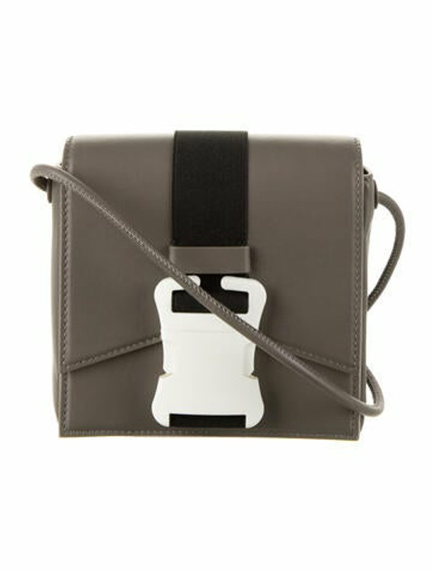 Thumbnail for your product : Christopher Kane Safety Buckle Bag Grey