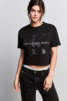 Calvin Klein For UO Heavy Knit Cropped Tee