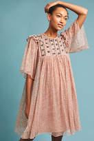 Antik Batik Petite Beaded & Embroidered Dress