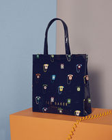 Ted Baker Telephone print large icon shopper bag