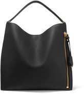 Tom Ford Alix Large Textured-leather Tote - Black