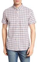 Grayers Men's Kilco Check Herringbone Sport Shirt