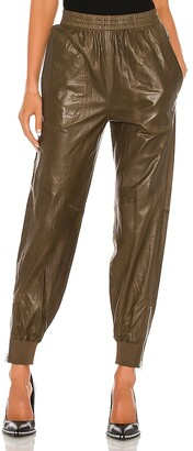 Rag & Bone Leather Jogger Pant