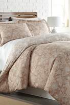Southshore Fine Linens King/California King Luxury Duvet Set - Paisley Taupe