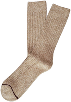 Etiquette Clothiers Marled Half Terry Boot Socks
