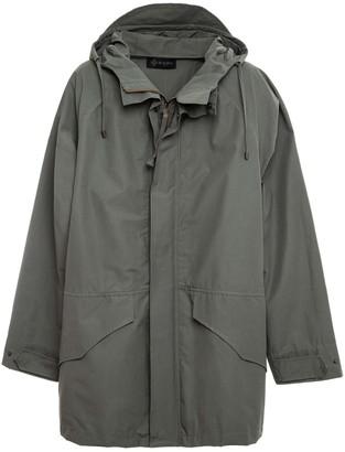 Mr & Mrs Italy Technical Cotton Unisex Anorak Jacket