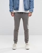 Asos Super Skinny Joggers In Gray
