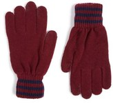 Polo Ralph Lauren Rugby Stripe Wool & Cashmere Gloves