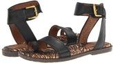 Naya Zenobia (Black Leather) - Footwear
