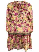 Thumbnail for your product : Anjuna Floral Print Cotton Minidress