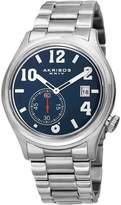 Akribos XXIV Men's Stainless Steel & Blue Dial Watch, 42mm
