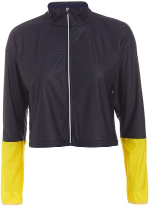 Monreal London Dark Sapphire Action Windbreaker - Multi / XS - Black/Yellow