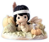 Precious Moments Figurine Squashed With Love