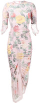 Preen by Thornton Bregazzi Agnes floral print fitted dress