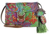 Patricia Nash Tropicana Summer Collection Van Sannio Tasseled Cross-Body Bag