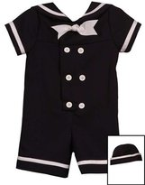 Rare Editions Little Boys Nautical Suit w/Sailor Hat