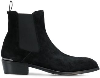 Alexander McQueen square-toe Chelsea boots