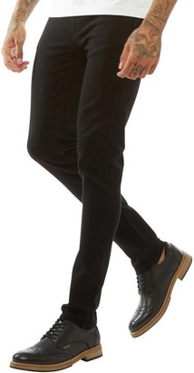 Firetrap Mens Skinny Jeans Black