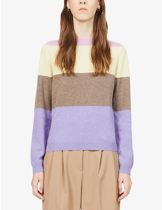 Peoples Republic of Cashmere Striped cashmere jumper