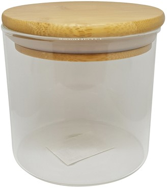 Scullery Bamboo & Glass Canister 500ml