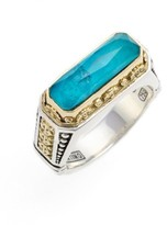 Konstantino Women's 'Iliada' Etched Ring