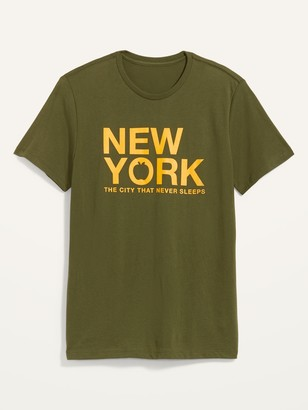 Old Navy Soft-Washed New York Graphic Tee for Men