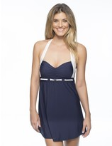 Nautica Signature Molded Cup Swim Dress