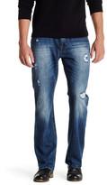 Seven7 Luxury Denim Flap Pocket Slim Boot Jean - 30-34\