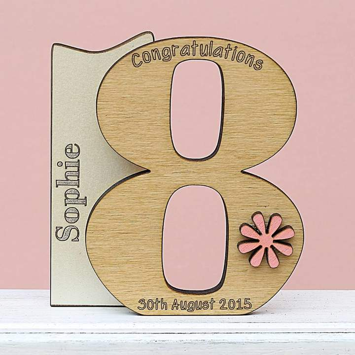 Keepsake Neltempo 18th Birthday Card