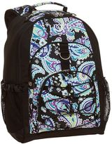 PBteen Gear-Up Black Paisley Backpack