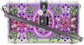 Dolce & Gabbana 'Dolce' box clutch - women - Calf Leather/Crystal/Plexiglass - One Size