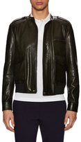 Prada Leather Racer Jacket
