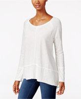 Style&Co. Style & Co. Petite High-Low Top, Only at Macy's