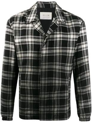 Alyx check faded effect shirt