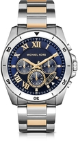 Michael Kors Brecken Two-tone Stainless Steel Men's Chronograph Watch