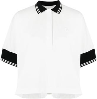 Sacai Polo-Style Trapeze Shirt