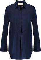 By Malene Birger Rianne stretch-silk satin shirt
