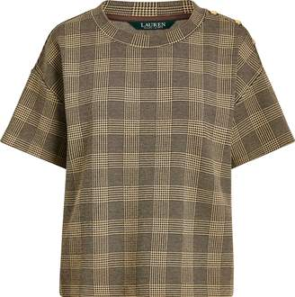 Ralph Lauren Glen Plaid Knit Tee