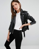 Y.A.S Ash Leather Jacket