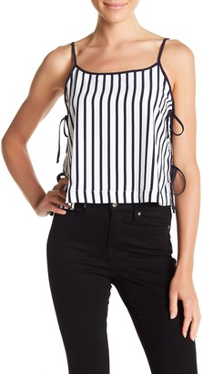 Elodie K Side Tie Striped Tank